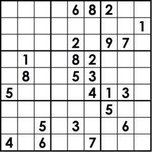 Sudoku classic BW