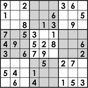 Sudoku Grey