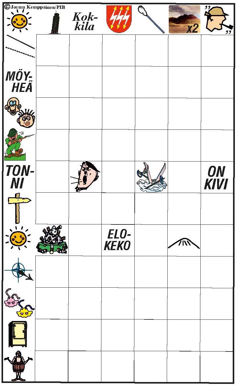 Välipalaristikko