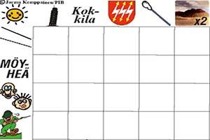 JK001 Finnish Crossword