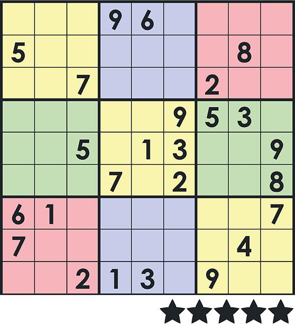 Sudoku colour