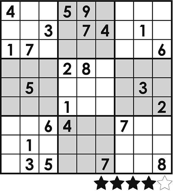 Sudoku – harmaa